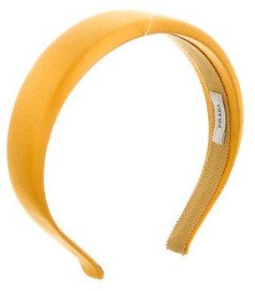 Prada Woven Satin Headband