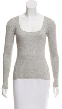 Strenesse Long Sleeve Ribbed Top