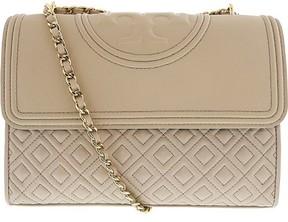Tory Burch Women's Fleming Convertible Sholder Bag Leather Shoulder Satchel - Bedrock - BEDROCK - STYLE