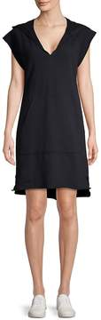 AG Adriano Goldschmied Women's Hooded Cotton Shift Dress