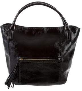 Anya Hindmarch Patent Leather Tassel Tote
