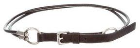 Saint Laurent Leather Waist Belt