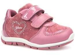 Geox Toddler Girl's Shaax Love Sneaker