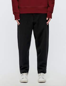 Ami Elasticized Waist Carrot Fit Trousers