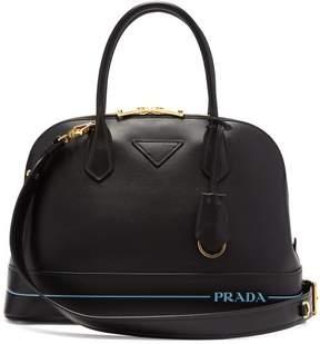 Prada Mirage Large Leather Bag - Womens - Black