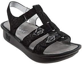 Alegria As Is Leather Multi- Strap Sandals w/ Backstrap - Kleo
