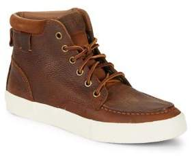 Polo Ralph Lauren Tedd Leather Sneaker Boots