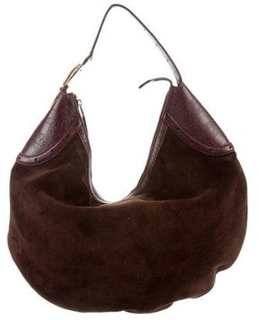 Gucci Horsebit Glam Hobo - BROWN - STYLE