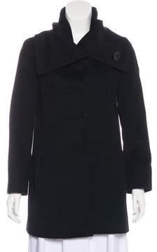Cinzia Rocca Funnel Neck Short Coat