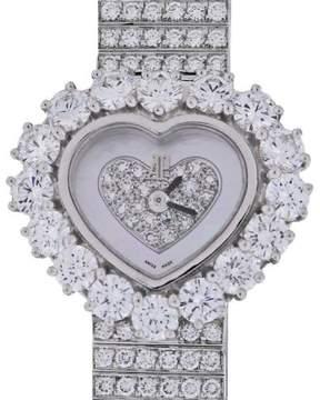 Audemars Piguet Diamond Heart 67369BC 18K White Gold 22.5mm Womens Watch