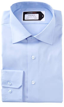 Lorenzo Uomo Oxford Trim Fit Dress Shirt