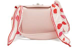 Alexander McQueen Box Bag 16 scarf-handle leather shoulder bag