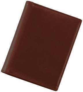 Royce Leather European Passport Wallet
