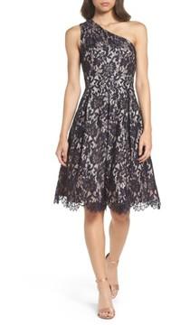 Eliza J Women's One-Shoulder Lace Dress