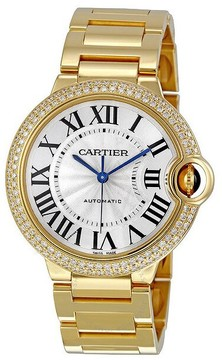 Cartier Ballon Bleu de Medium 18k Yellow Gold Watch