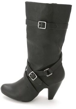 DOLCE by Mojo Moxy Womens Natasha Round Toe Mid-calf Fashion Boots.