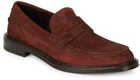 Canali Men's Leather Driver Shoes