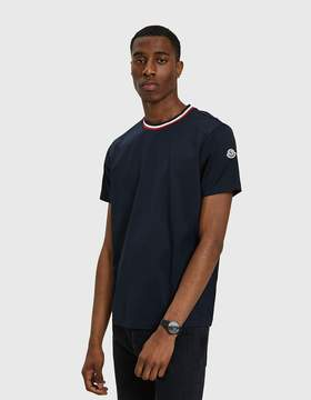 Moncler Maglia T-Shirt in Navy