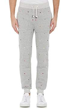 Band Of Outsiders Men's Embroidered Foulard Sweatpants