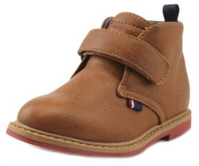 Tommy Hilfiger Michael Chukka Toddler Round Toe Synthetic Brown Chukka Boot.