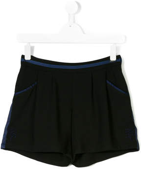 Karl Lagerfeld side band shorts