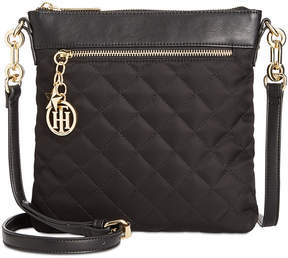 Tommy Hilfiger Quilted Charm North-South Crossbody