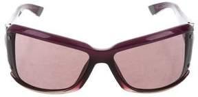 Balenciaga Gradient Square Sunglasses