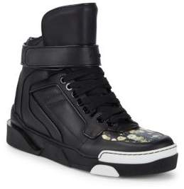 Givenchy Classic Leather High-Top Sneakers