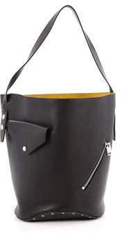 Celine Pre-owned: Biker Bucket Shoulder Bag Calfskin Small.
