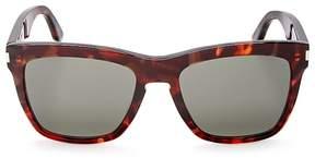 Saint Laurent Devon Oversized Square Sunglasses, 58mm