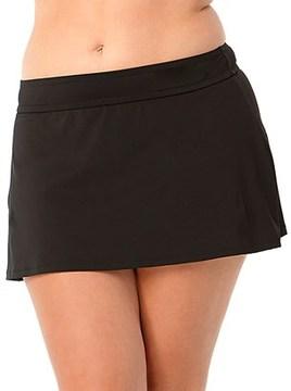 Anne Cole Plus Classic Swim Skirt.