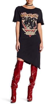 Eleven Paris ELEVENPARIS Aerosmith World Tour T-Shirt Dress