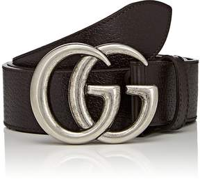 Gucci Men's Double G Buckle Leather Belt