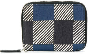 Marni printed zip around card holder