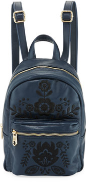 Cynthia Rowley Knox Mini Embroidered Backpack