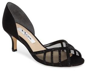 Nina Women's Corita Embellished Mesh Sandal