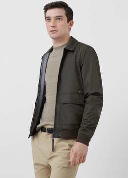 Mango Outlet Nylon reversible jacket