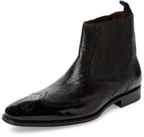 Mezlan Men's Wingtip Chelsea Boot