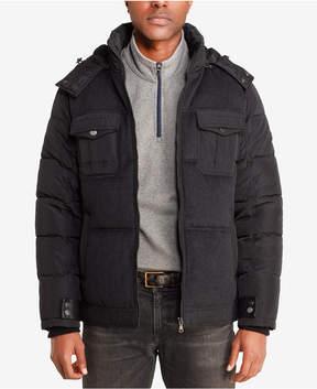 Sean John Men's Quilted Wool-Blend Puffer Jacket