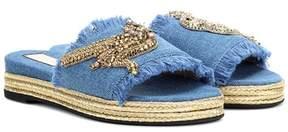 N°21 Embellished slip-on sandals