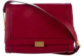 Smythson Smooth Leather Shoulder Bag