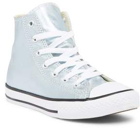 Converse Chuck Taylor All Star Metallic Glacier High Top Sneaker (Little Kid)