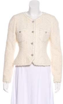 Chanel Sequin Tweed Jacket