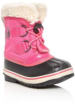 Sorel Girls' Yoot Pac Nylon Cold Weather Boots - Toddler, Little Kid