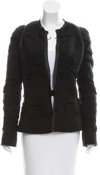Alessandro Dell'Acqua Textured Wool Jacket