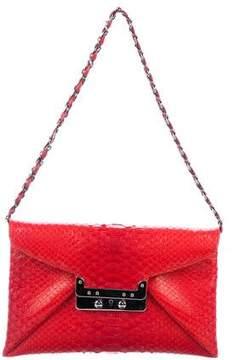 VBH Snakeskin Envelope Bag