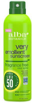 Alba SPF 50 Suncreen Spray Fragrance Free by 6oz Sunblock)