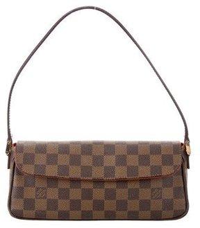 Louis Vuitton Damier Ebene Recoleta Bag - BROWN - STYLE