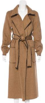 Atelier Twilley Wool and Mohair Blend Duster Coat w/ Tags