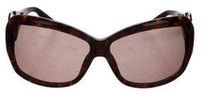 Just Cavalli Tortoiseshell Embellished Sunglasses